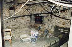 Création de bureau dans une cave AVANT