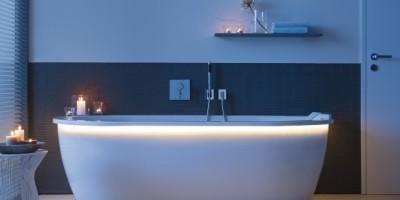 Duravit baignoire bleue