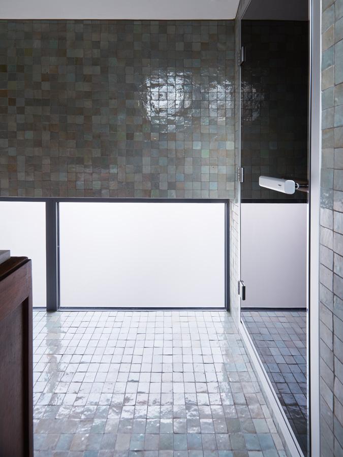 Construction maison de ville : salle de bain